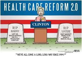 Hillarycare toon